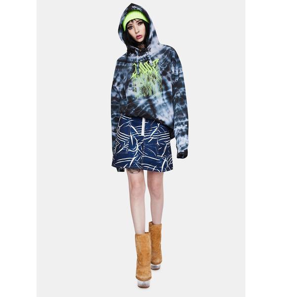 DOOM 3K Seapunk Mini Skirt