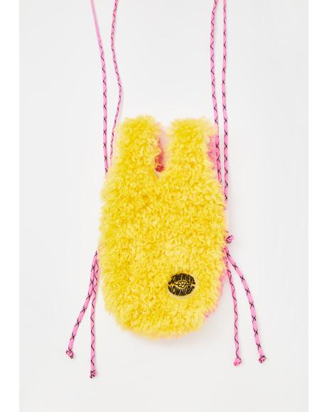Yellow Duo Fluff Bottle Tote Bag
