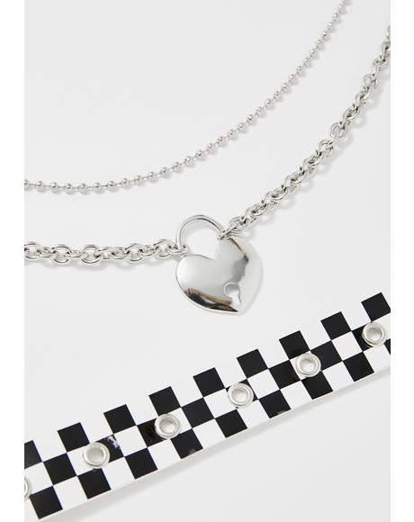 Warped Reality Choker Set