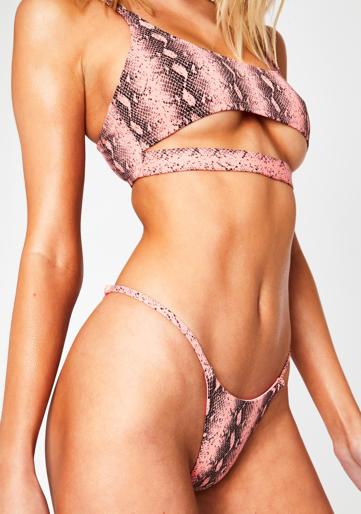 RIS-K Coral Python Spell Bikini Bottoms