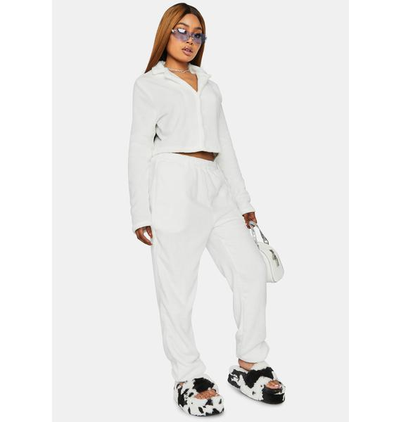 Angel Can't Let You Go Velour Pants Set