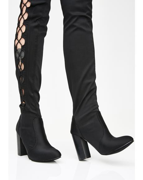 Temptation Avenue Thigh High Boots