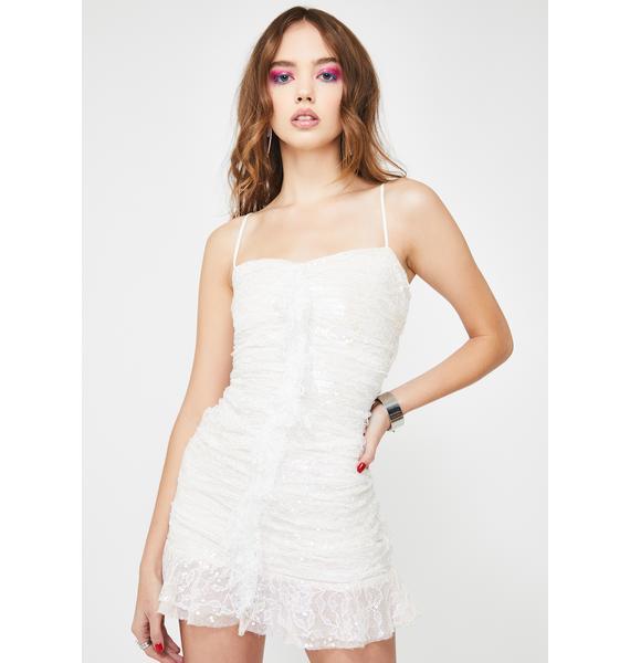 For Love & Lemons Rodin Iridescent Mini Dress