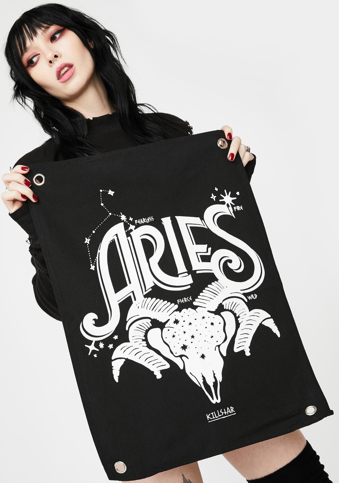 Killstar Aries Mini Tapestry