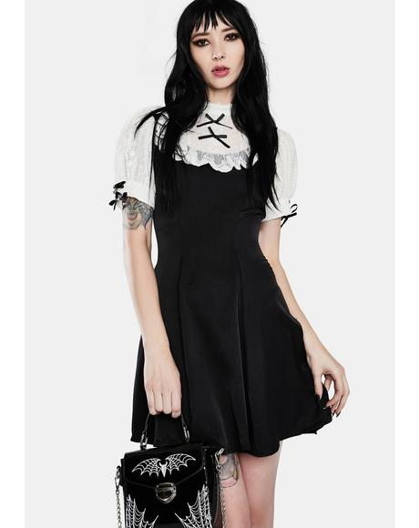 Gothic Lolita Doll Mini Dress