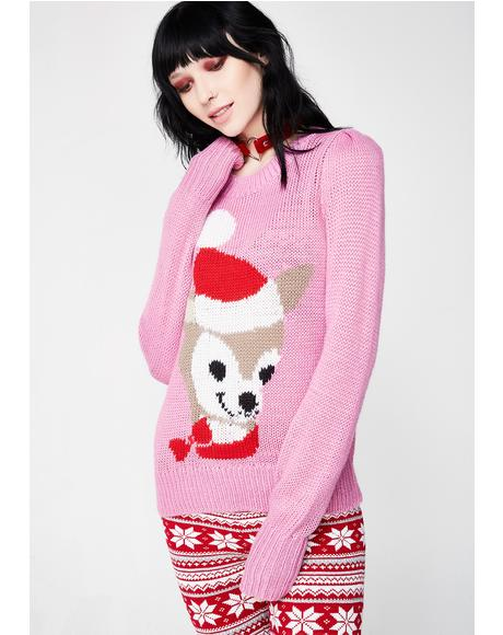 Prancer Lou Sweater