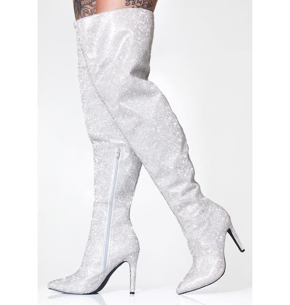 Poster Grl Publicity Stunt Thigh High Boots