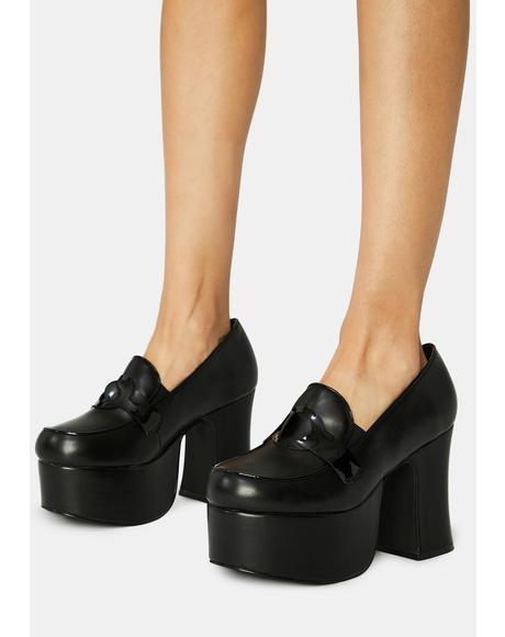 Deelite Platform Loafers