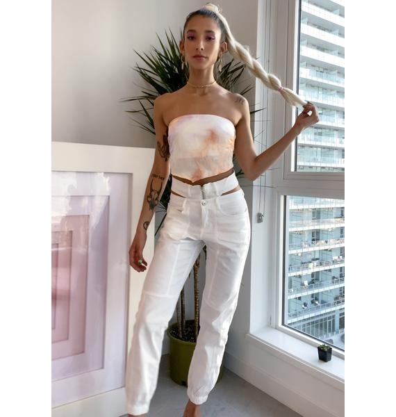 Pure Center Of Attention Cut Out Pants