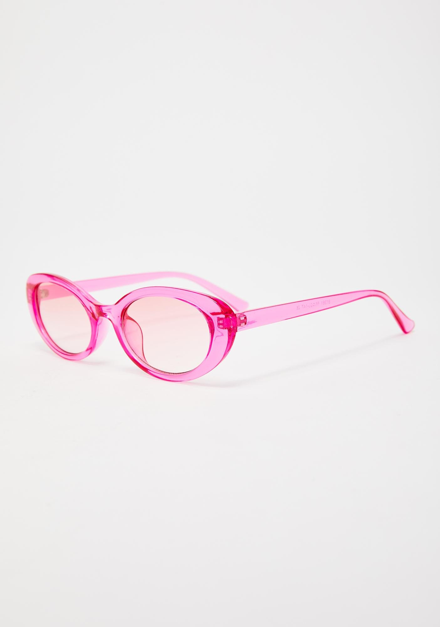 Baby Talk To The Hand Clear Sunglasses