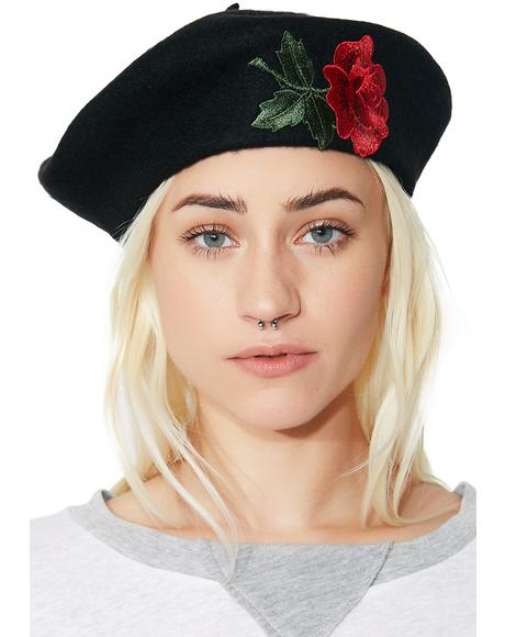 Eden Rose Beret