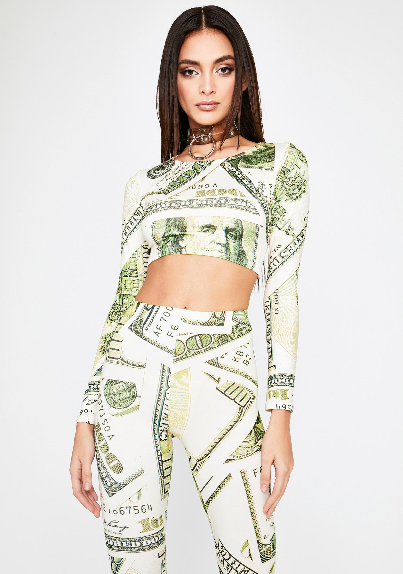 Cashin Out Pant Set