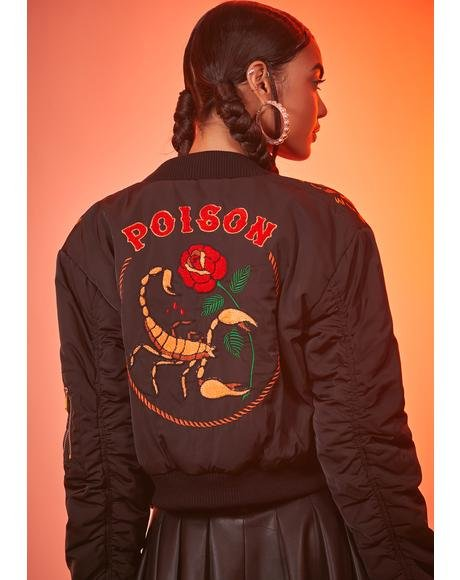 Scorpion Lust Bomber Jacket