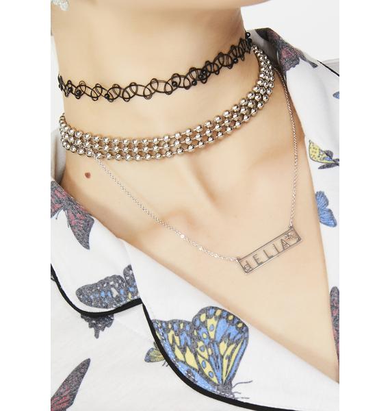 dELiA*s by Dolls Kill Name Drop dELia's Necklace