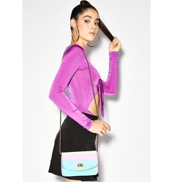 Glow Up Reflective Crossbody Bag