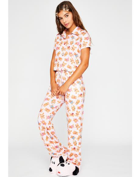Double Stuffed Pajama Set
