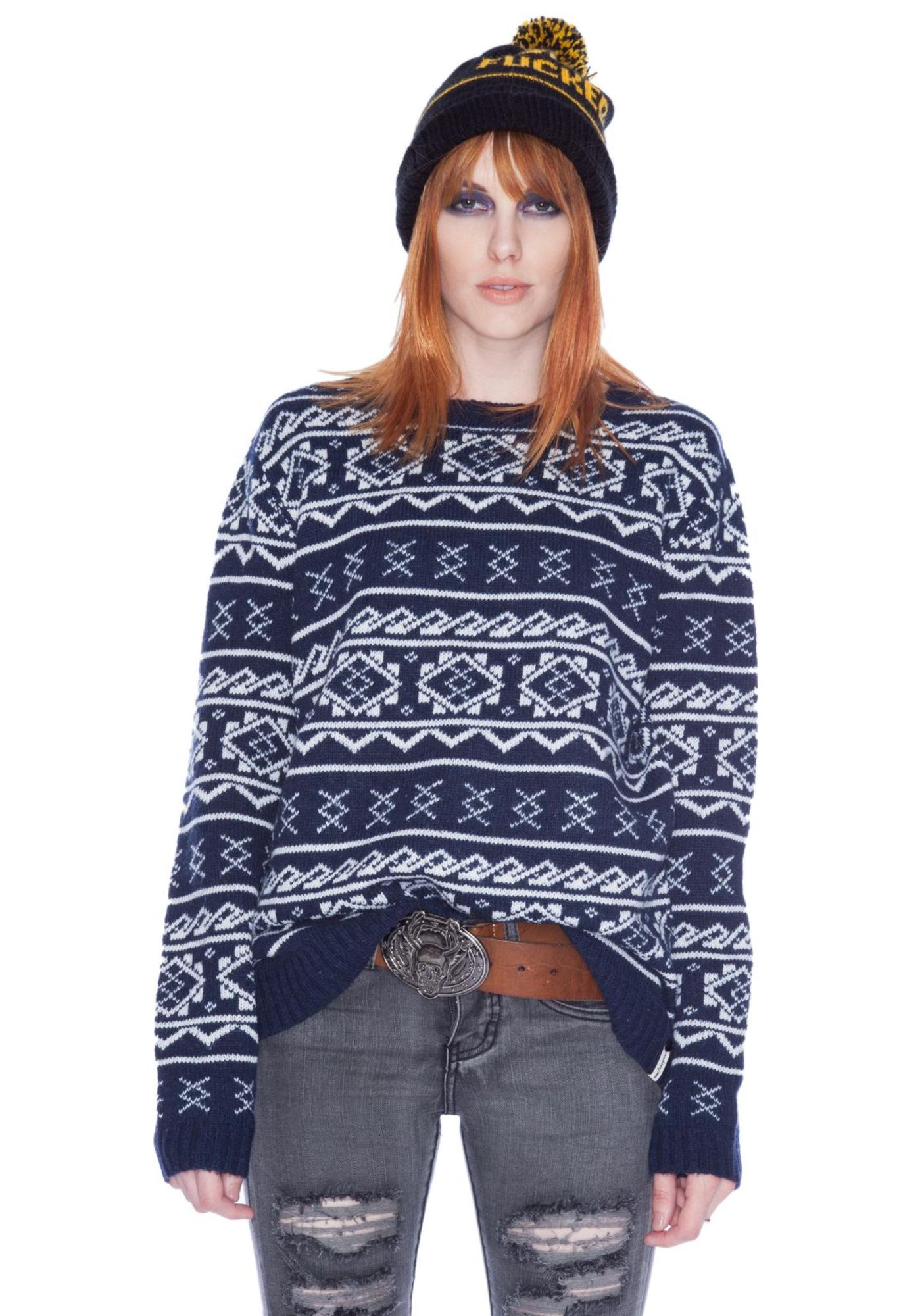 One Teaspoon Navigator Knit Jumper