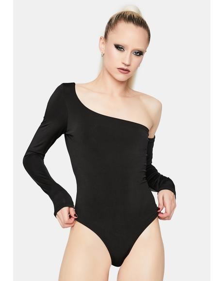 Wait A Lifetime One Sleeve Bodysuit