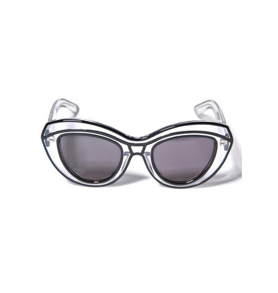 Ksubi Lyonesse Black Sunglasses