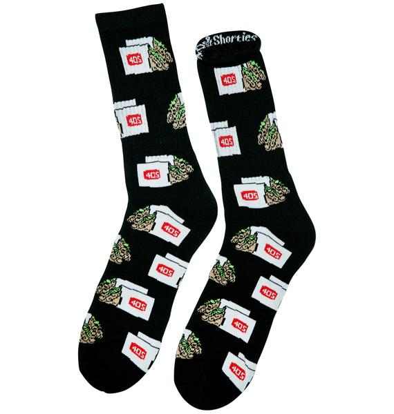 40s & Shorties 2 Tacos Crew Socks