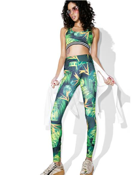 Paradise Long Leggings