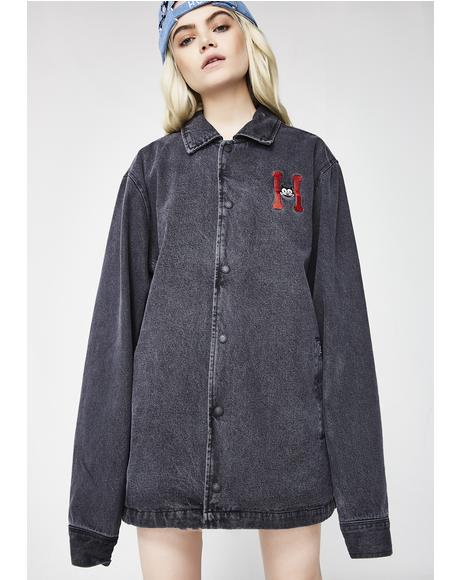 Felix Denim Coach Jacket