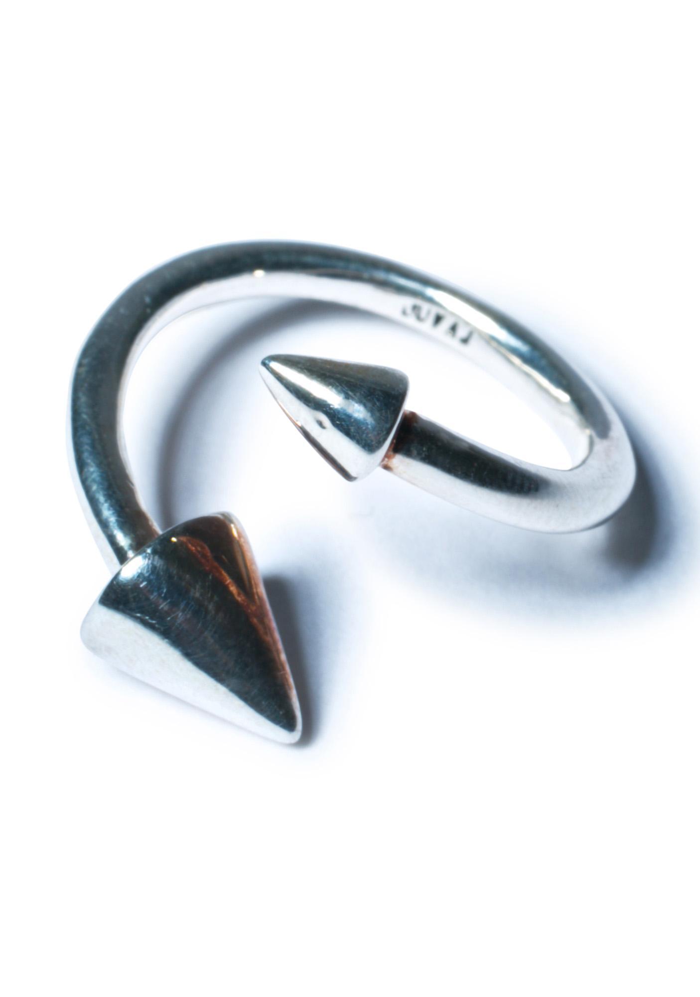 Luv AJ The Open Spike Ring