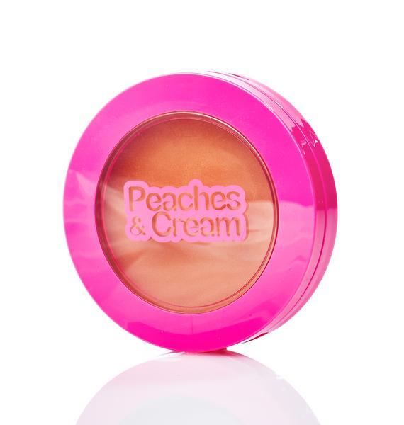 Peaches & Cream Matte Bronzing Powder