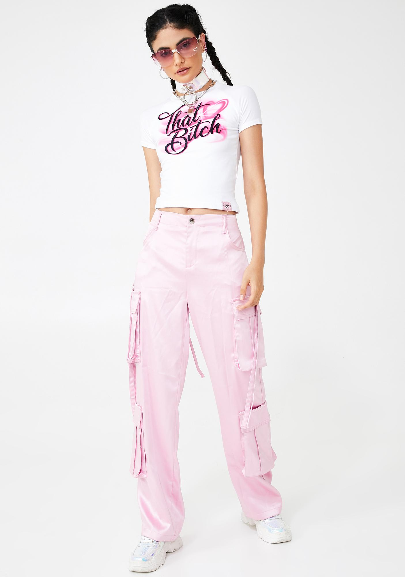 Cotton Candy Apparel That Bitch Baby Tee