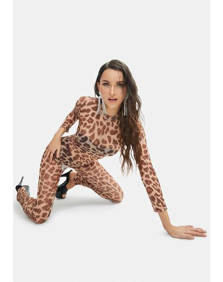 Full Scandal Leopard Bodysuit