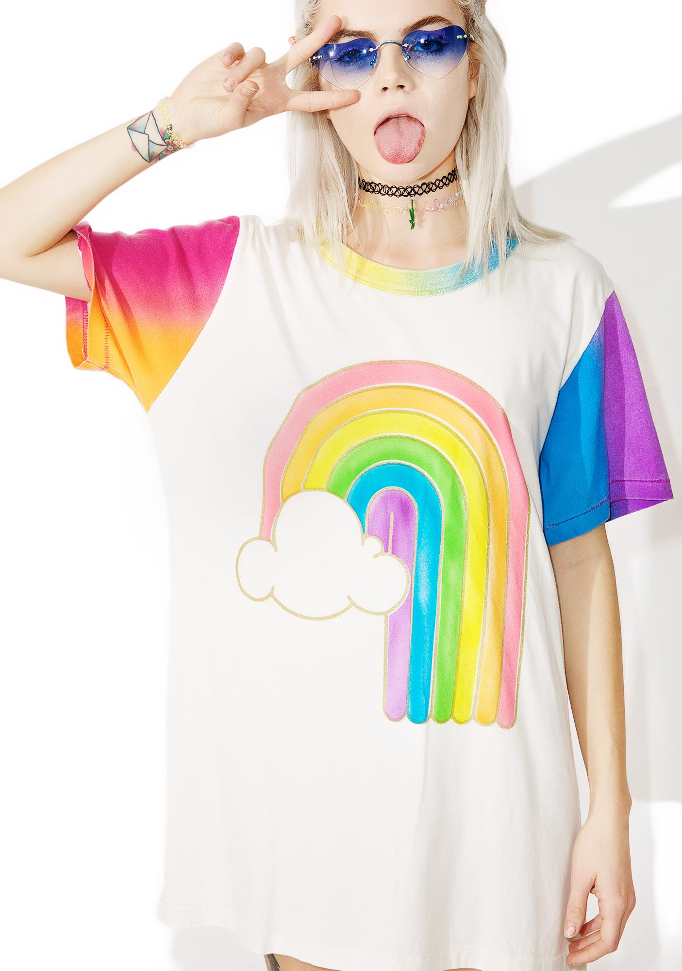 Big Bud Press Rainbow Tee
