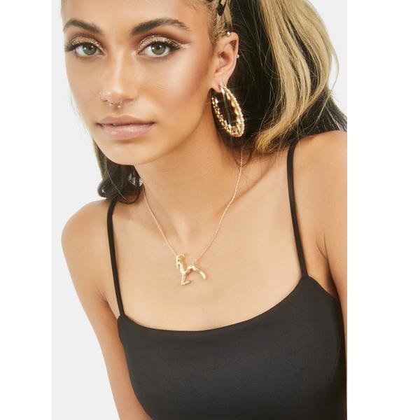 Realest Babe Capricorn Necklace