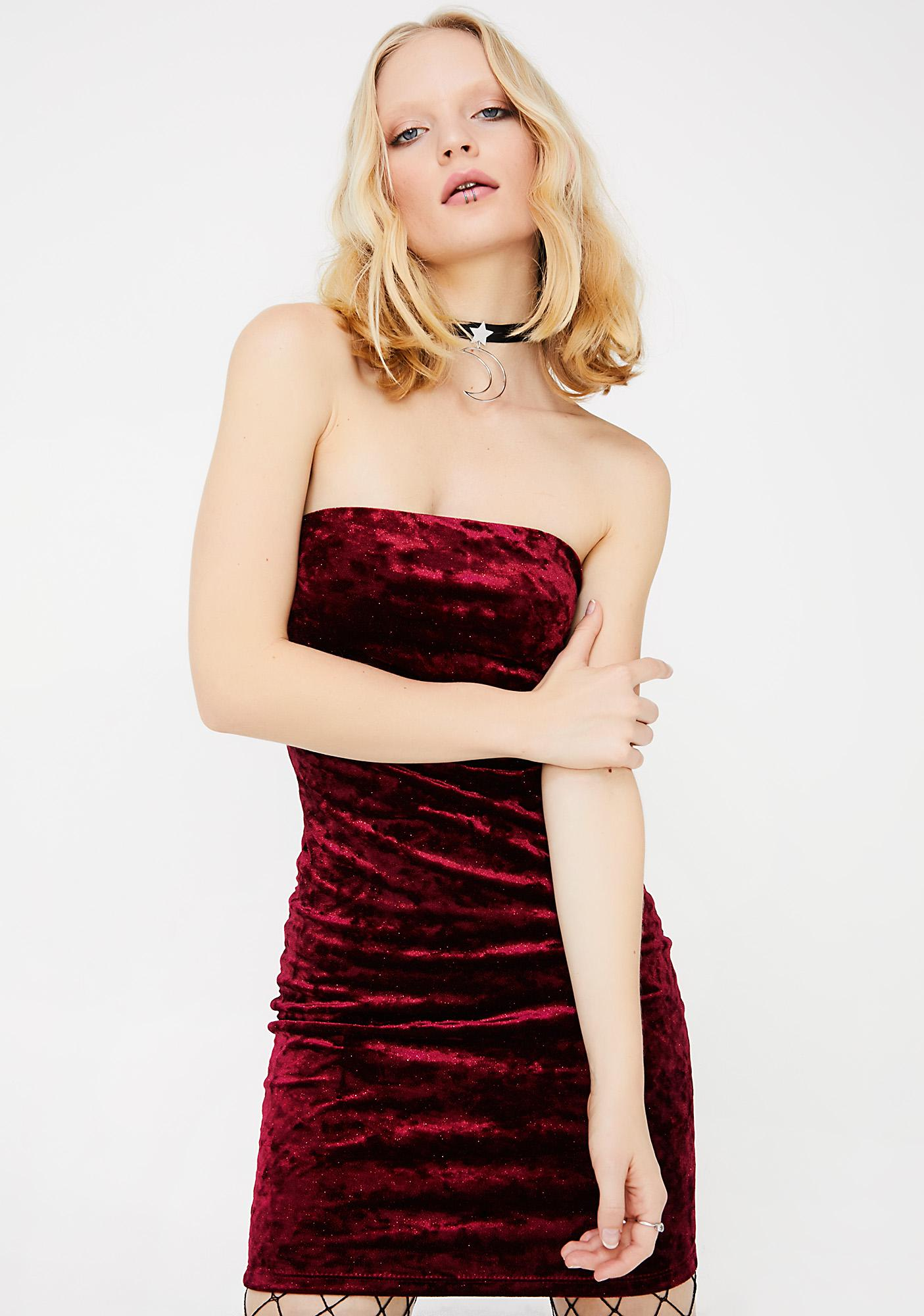 Crushed Luv Mini Dress