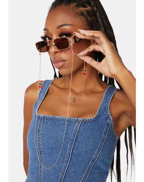 Sweet Snack Sunglasses Chain