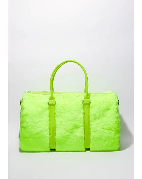 Lime Shagadelic Weekender