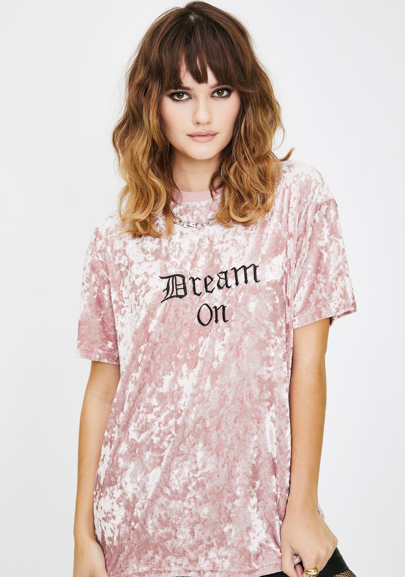 Daisy Street Dream On Velvet Tee