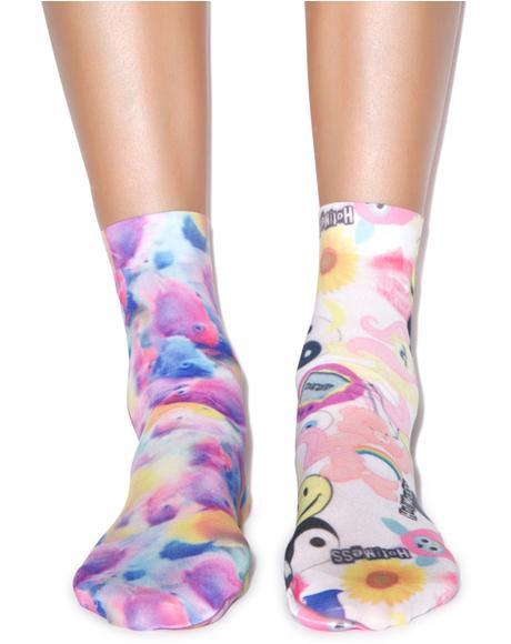 Toyshop & Fish Pop Socks Set