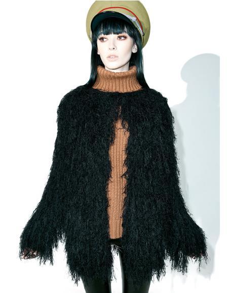 Will O' Wisp Faux Fur Coat