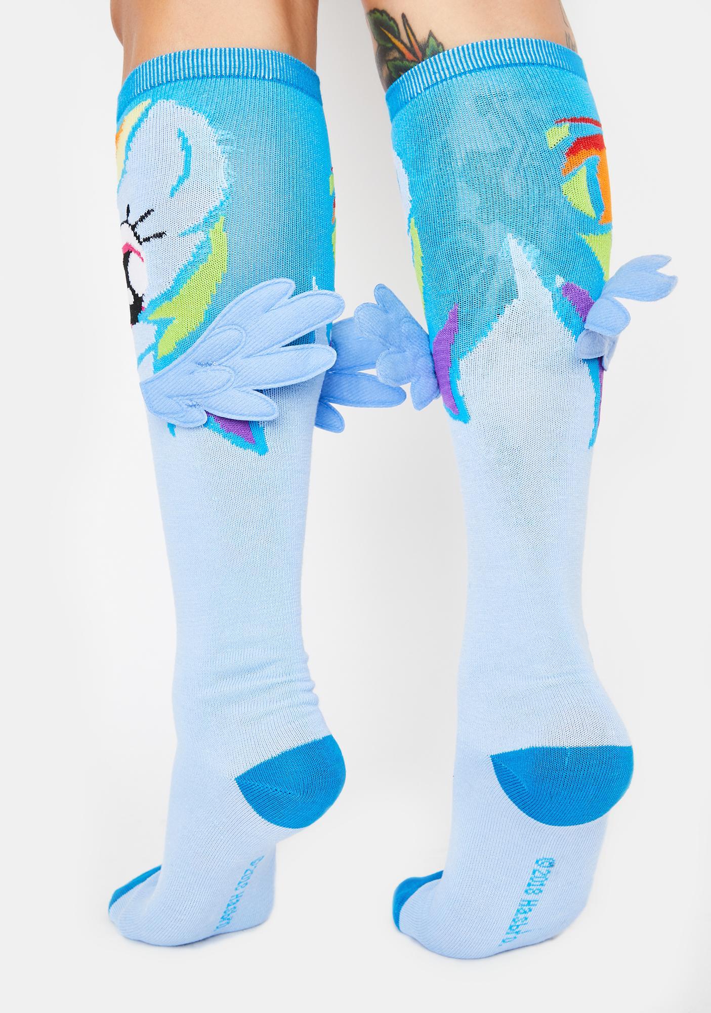 My Little Flying Pony Knee High Socks