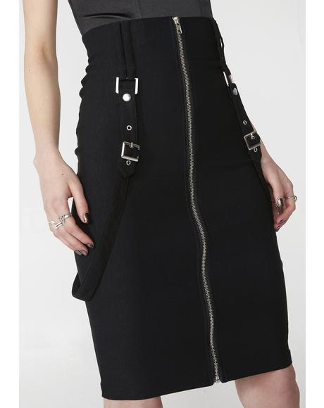 Force Field Pencil Skirt