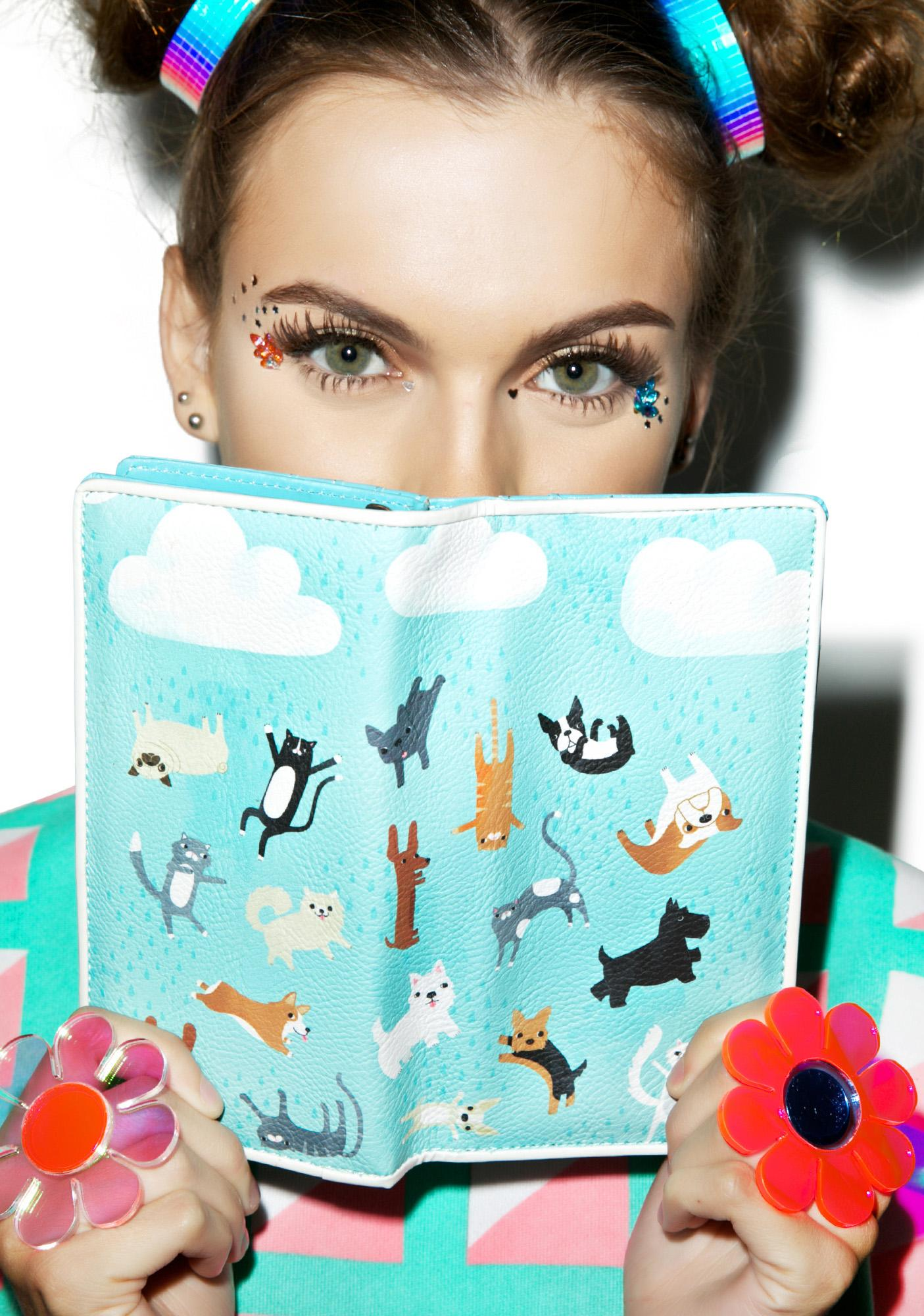 It's Raining Cats And Dogs Wallet