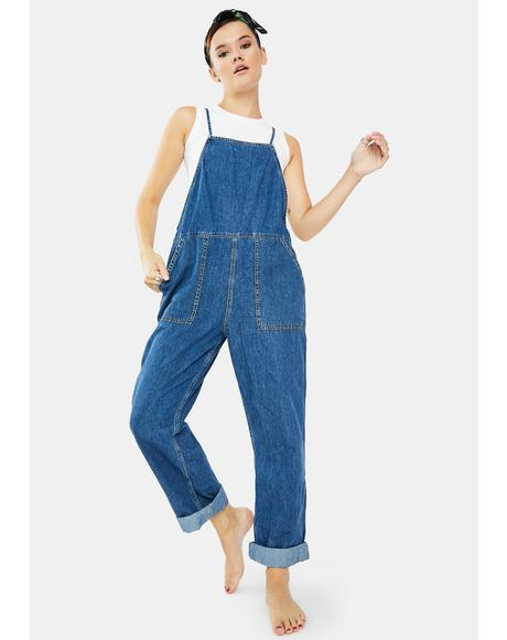 Misty Denim Jumpsuit