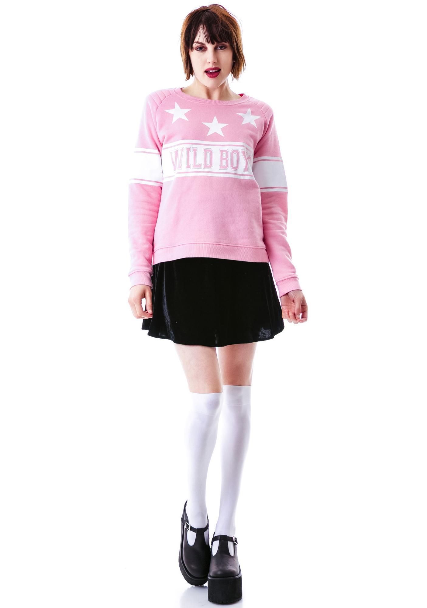Zoe Karssen Wild Boys Loose Fit Sweater