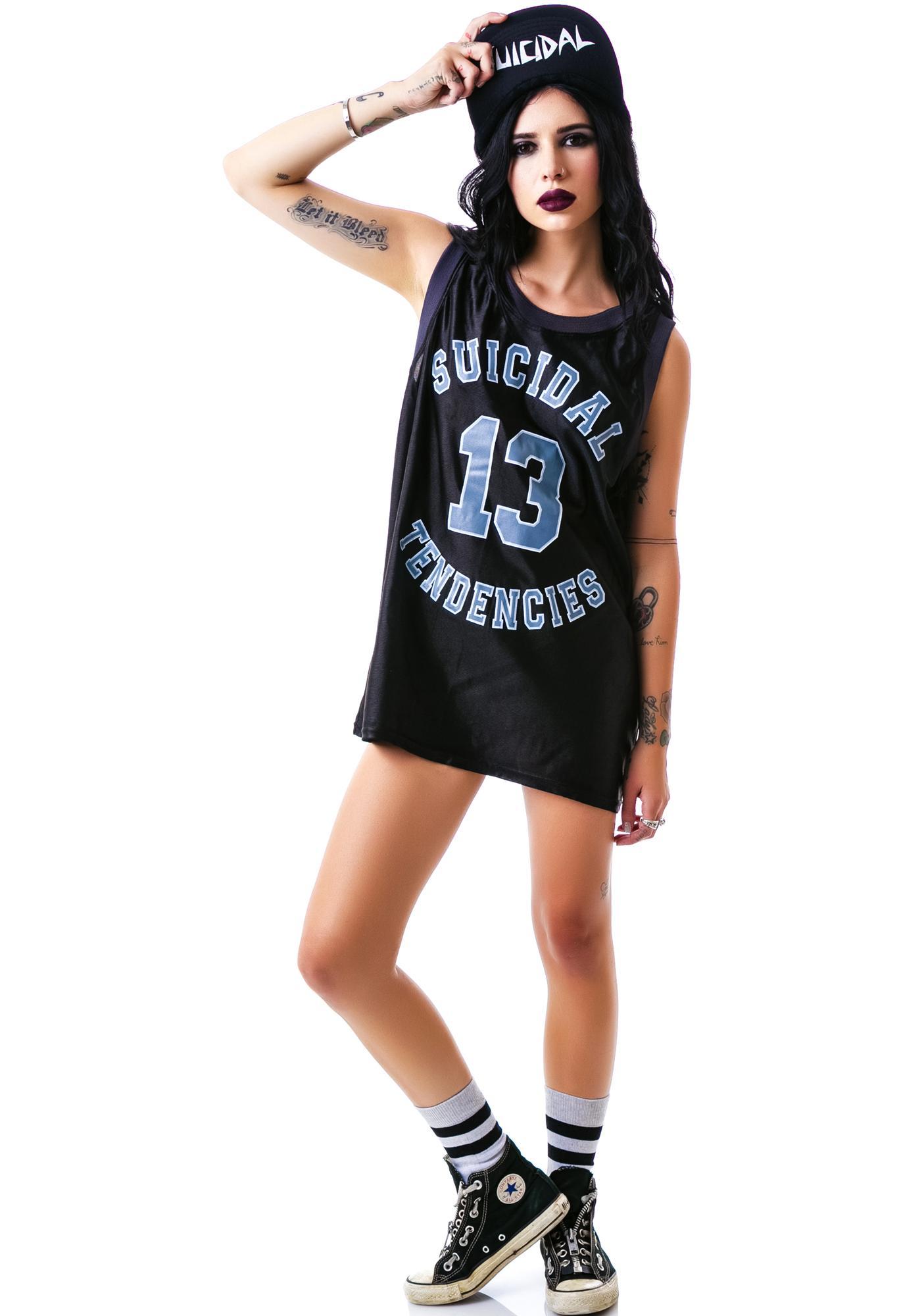 Suicidal Tendencies Basketball Jersey