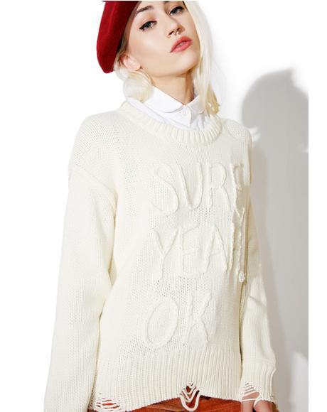 Sure Charlotte Sweater