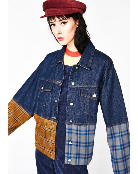Grunge Queen Denim Jacket