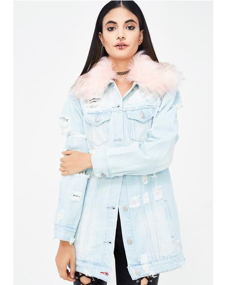 Frost Bite Denim Jacket