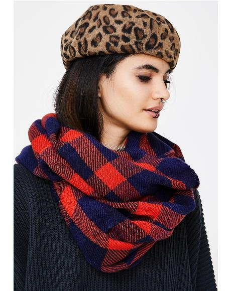 Cozy Corner Plaid Scarf