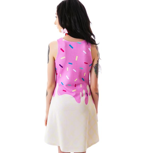 Japan L.A. Japan L.A. Melty Ice Cream Tank Dress