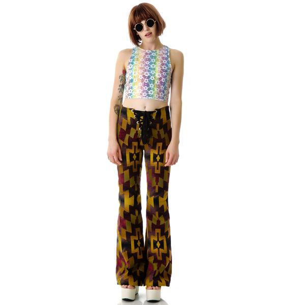 Bad Vibes Sun Tapestry Pants